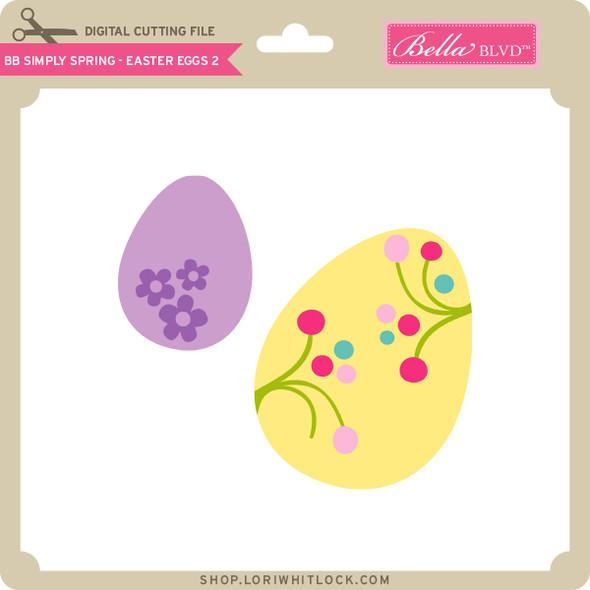 BB Simply Spring - Easter Egg 2