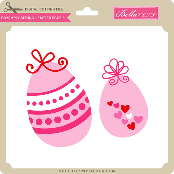 BB Simply Spring - Easter Egg 3