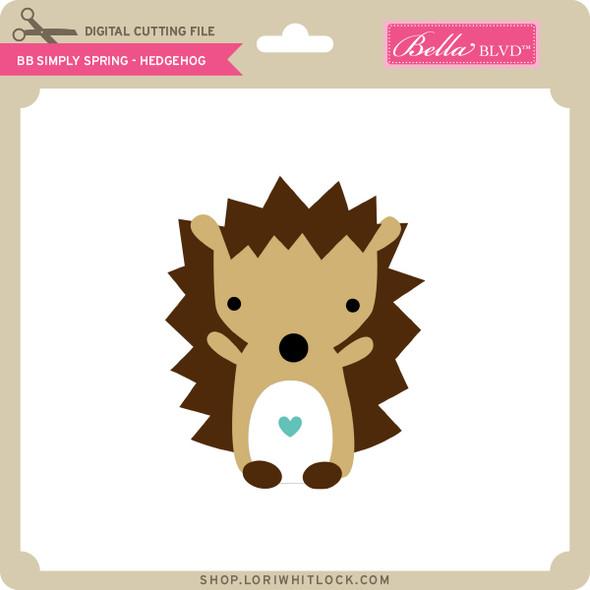 BB Simply Spring - Hedgehog