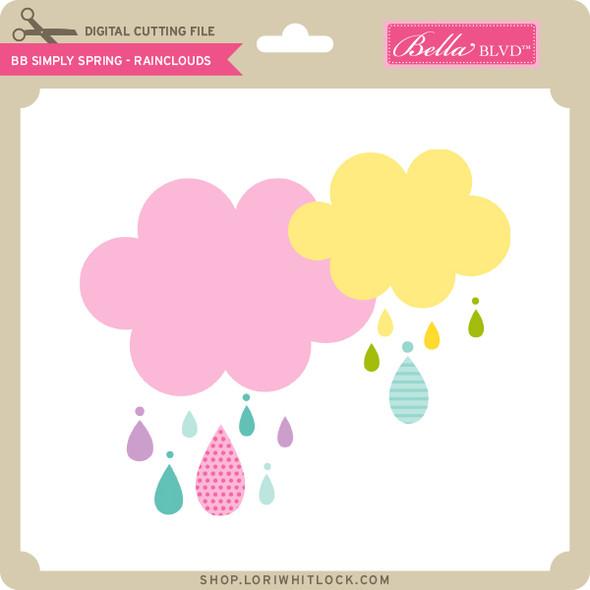BB Simply Spring - Rainclouds