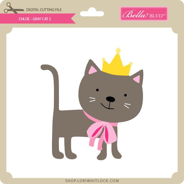 Chloe - Gray Cat 2