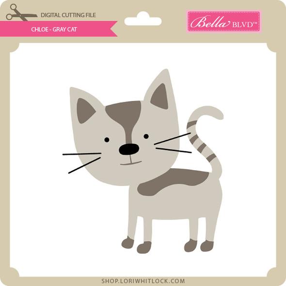 Chloe - Gray Cat