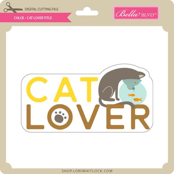 Chloe - Cat Lover Tile