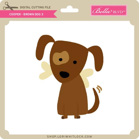 Cooper Brown Dog