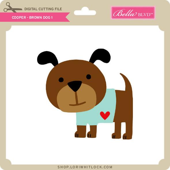 Cooper Brown Dog 1