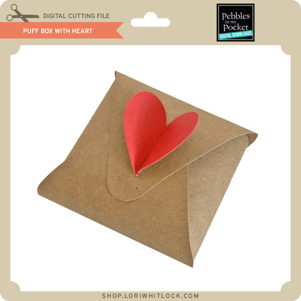 Puff Box with Heart