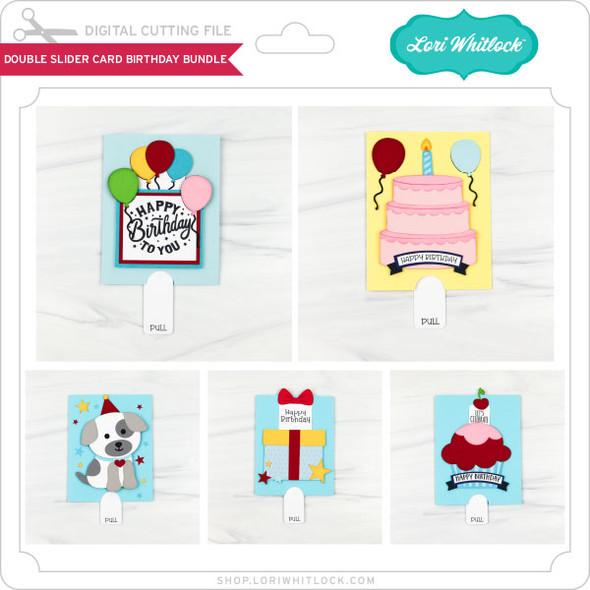 Double Slider Card Birthday Bundle