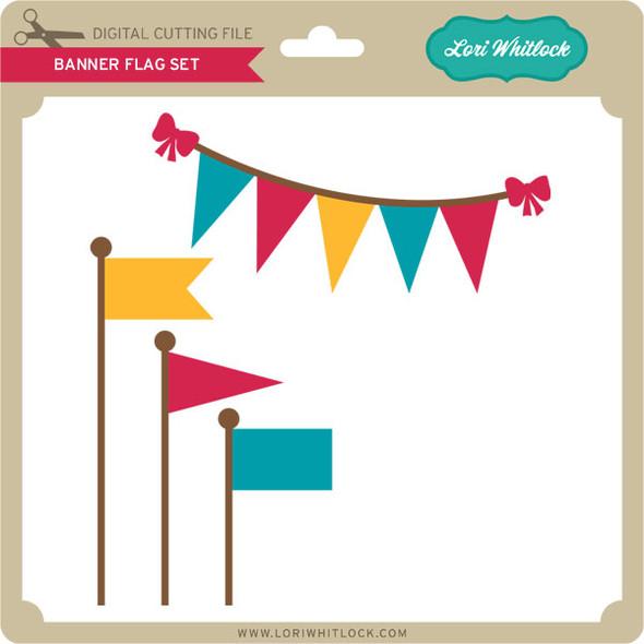 Banner Flag Set