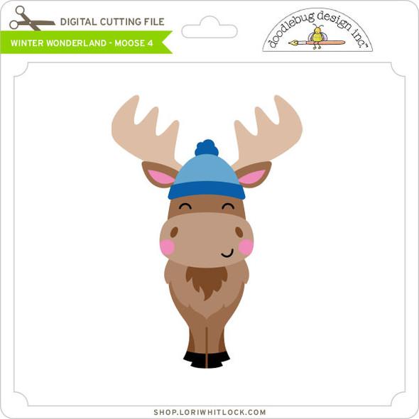 Winter Wonderland - Moose 4