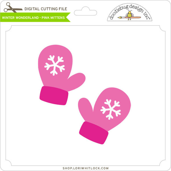 Winter Wonderland - Pink Mittens
