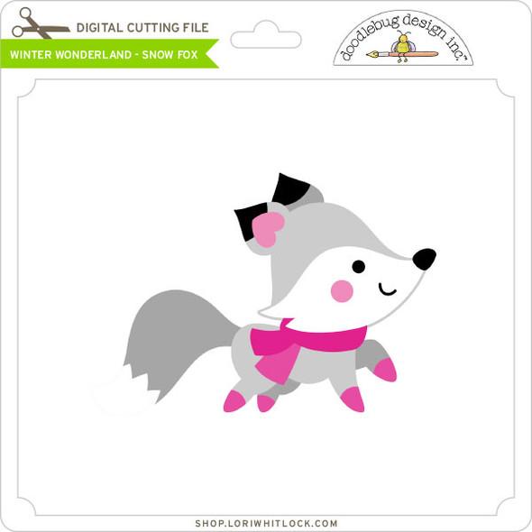 Winter Wonderland - Snow Fox