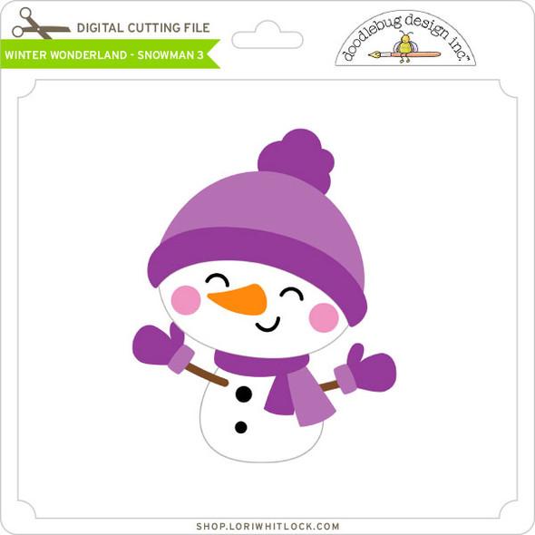 Winter Wonderland - Snowman 3
