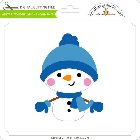 Winter Wonderland - Snowman 5