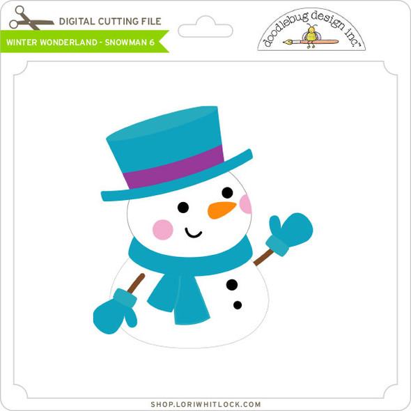 Winter Wonderland - Snowman 6