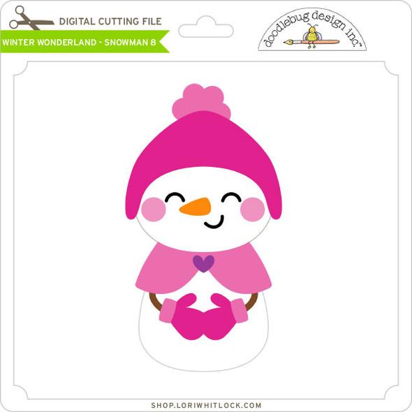 Winter Wonderland - Snowman 8