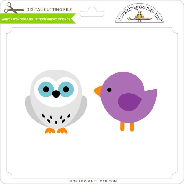 Winter Wonderland - Winter Winged Friends