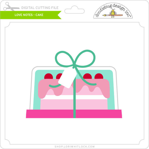 Love Notes - Cake