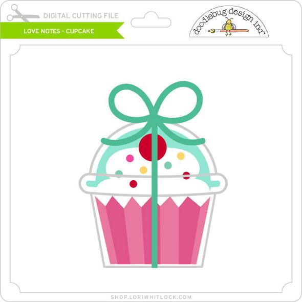 Love Notes - Cupcake