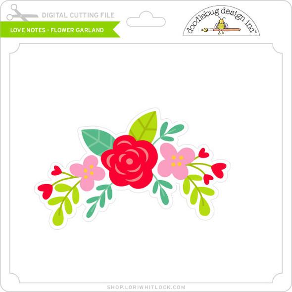 Love Notes - Flower Garland