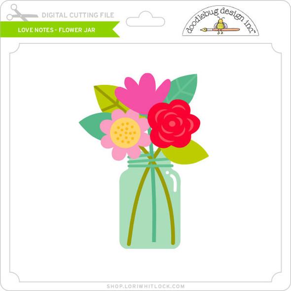 Love Notes - Flower Jar