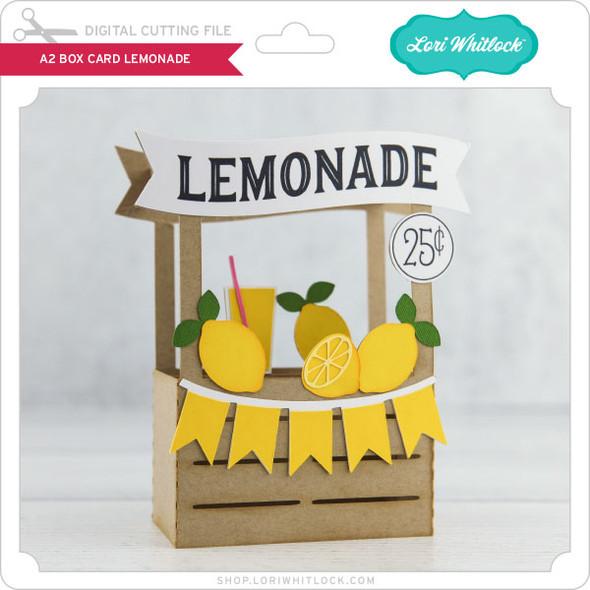 Box Card Lemonade