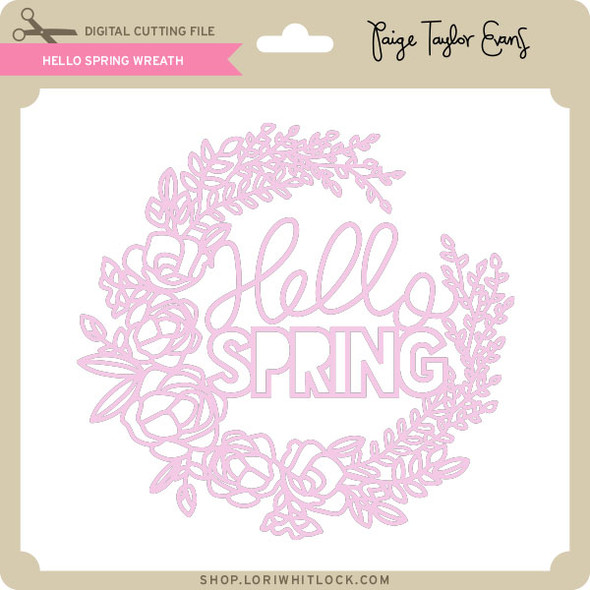 Hello Spring Wreath 2