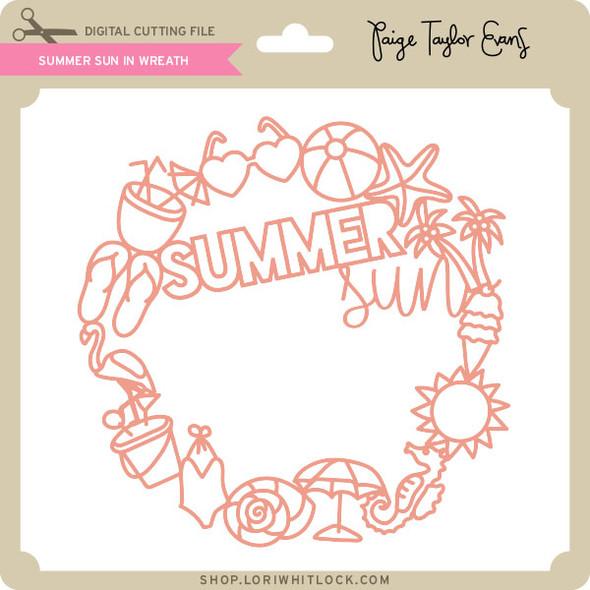 Summer Sun in Wreath