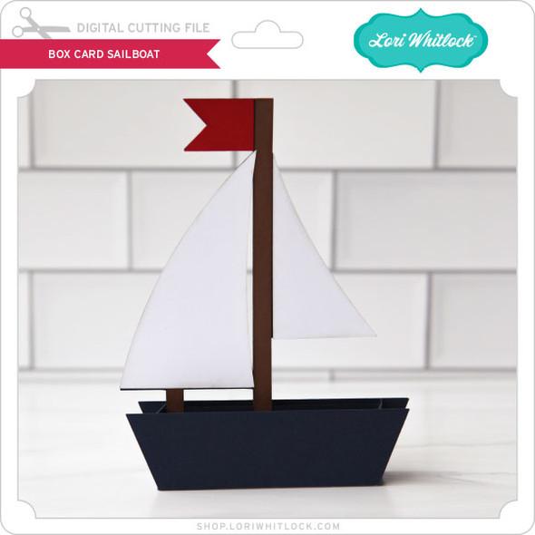 Box Card Sailboat