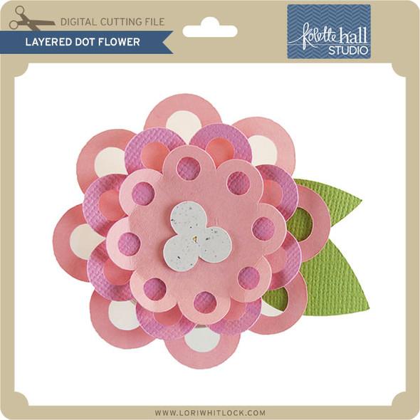 Layered Dot Flower
