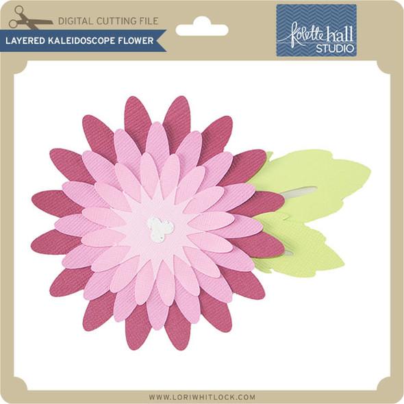 Layered Kaleidoscope Flower