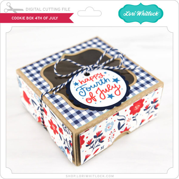 Cookie Box 4th of July