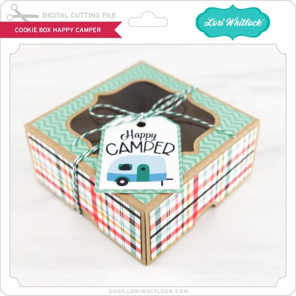 Cookie Box Happy Camper