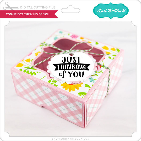 Cookie Box Thinking of You