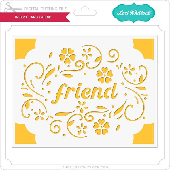 Insert Card Friend