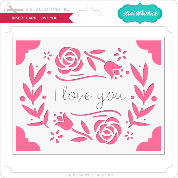 Insert Card I Love You