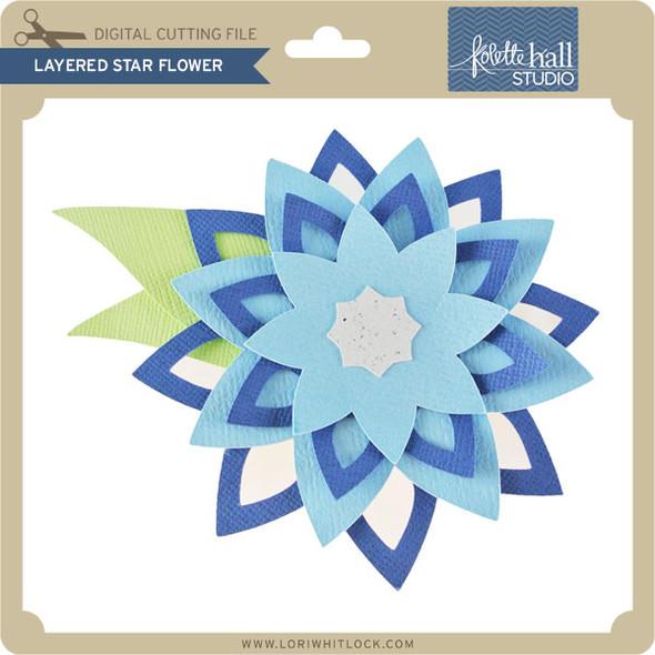 Layered Star Flower