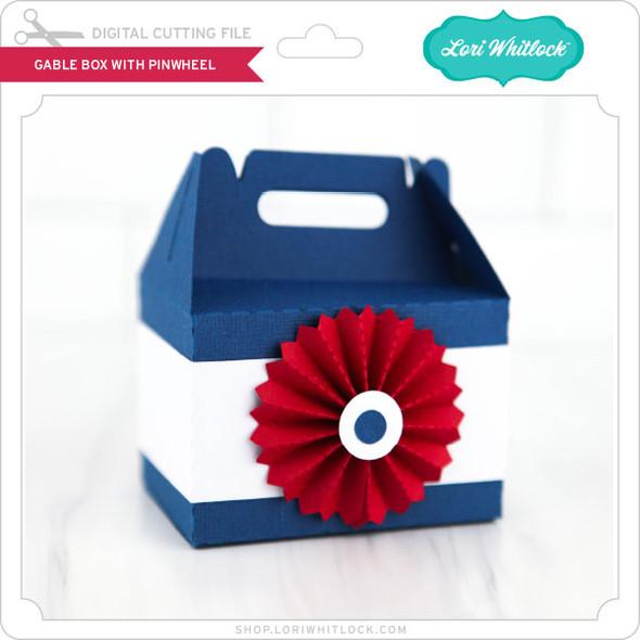 Gable Box with Pinwheel