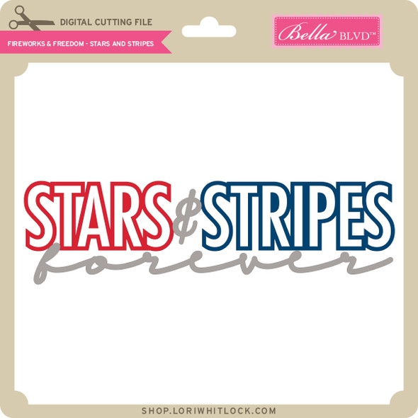 Fireworks & Freedom - Stars and Stripes