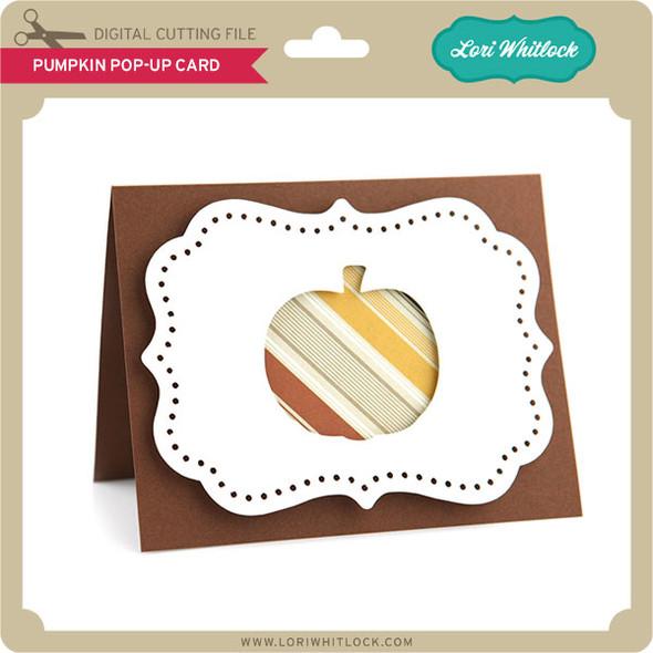 Pumpkin Pop-Up Card