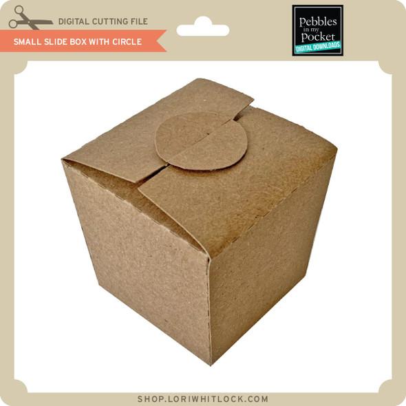 Small Slide Box with Circle