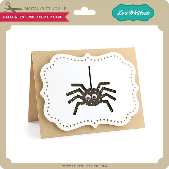 Halloween Spider Pop-Up Card