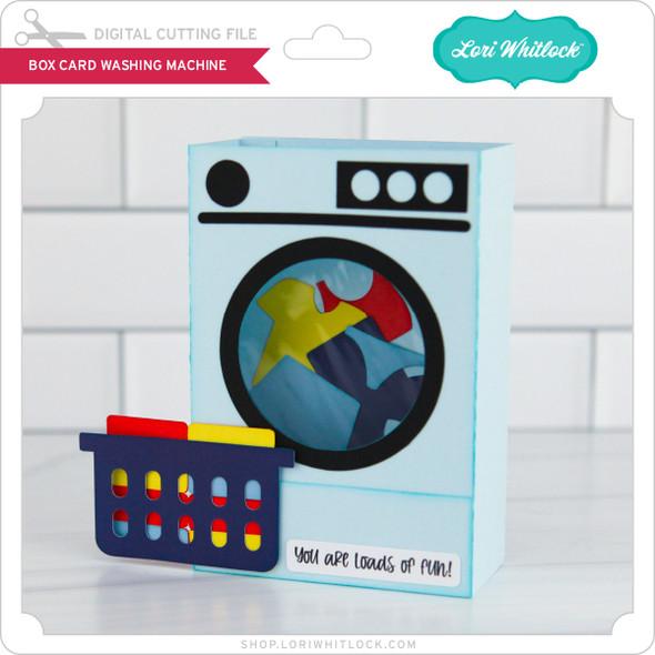 Box Card Washing Machine