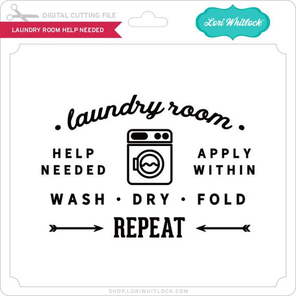 Laundry Room Help Needed