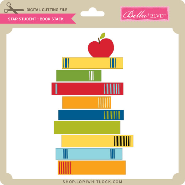 Star Student - Book Stack