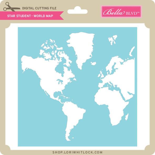 Star Student - World Map