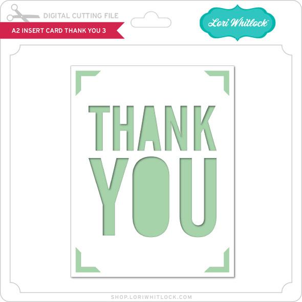 A2 Insert Card Thank You 3