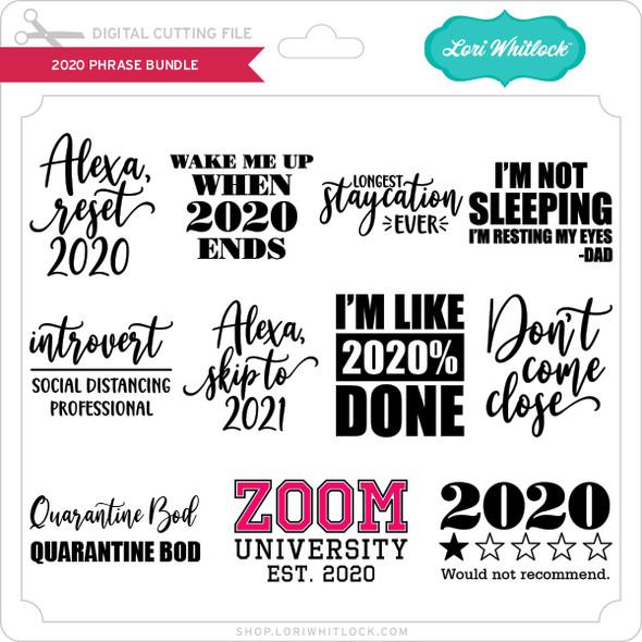 2020 Phrase Bundle