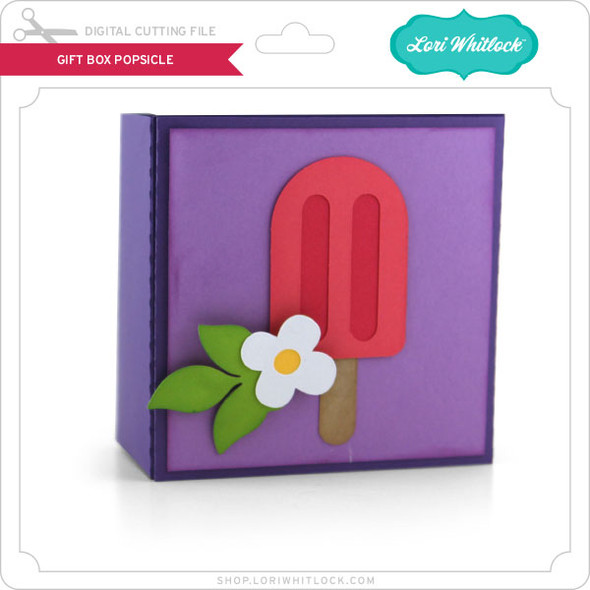 Gift Box Popsicle