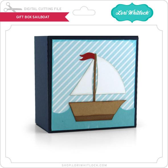 Gift Box Sailboat