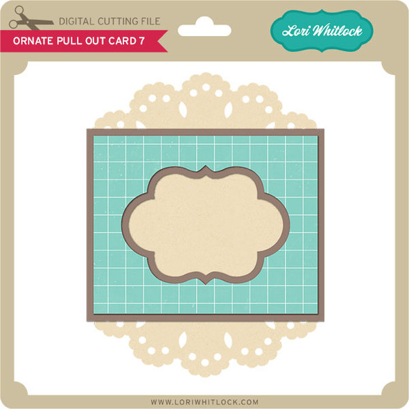 Ornate Pull Out Card 7